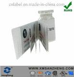 Construção Multi-Ply Easy-Open resseláveis etiquetas autocolantes para frascos de pacote farmacêutico