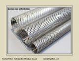 Buis van het Roestvrij staal van Ss201 76*1.6 mm de Uitlaat Geperforeerde
