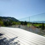 Aluminiumprofil-U-Profilstäbeglasgeländer-im Freien Glasgeländer