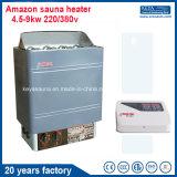 Calentador eléctrico 9kw de la sauna del equipo del sitio de la sauna con la aprobación del Ce