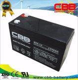 Schleife-Druckspeicher-Batterie Np9-12 China AGM-Bateria 12V9ah tiefe