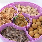 간단한 창조적인 가구 방진 과일 상자 물개 음식 다기능 다채로운 저장 상자