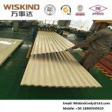 Hoja acanalada del material para techos de la anchura 836 eficaces con alta calidad