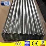 BWG 28 금속 물결 모양 담 강철판 공장
