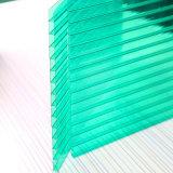 Panneau en plastique de toiture de polycarbonate de feuille de cavité de polycarbonate d'abri