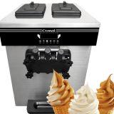 Мягкий служить мороженое машин замороженный йогурт машин
