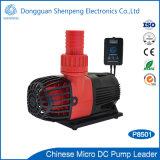 mini pompe à eau du flux 24V d'aquarium élevé de C.C avec le contrôleur de vitesse