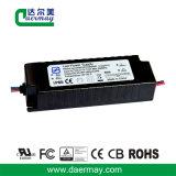 En el exterior el controlador LED 50W 56V resistente al agua IP65
