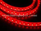 Striscia flessibile di alta luminosità LED con approvazione del Ce per colore rosso