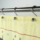 Kundenspezifischer Polyester-Gewebe-Kind-Vorhang für Badezimmer-Duschvorhang