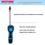 Egd01 Réglage de la sensibilité du détecteur de fuite de gaz combustible analyseur de gaz la lumière de l'alarme sonore