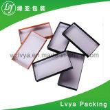 Casella di carta cosmetica di bello colore con la stagnola di oro di marchio
