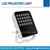 12PCSの防水屋外LEDプロジェクター/スポットライトライト