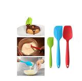 Кухня силикона 3 PCS оборудует деревянный силикон ручки варя комплект инструментов