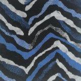Het blauwe MultiBont van Faux van de Stapel van de Kleur Lange voor Kledingstuk, Kussen en Zak