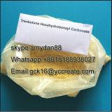 Carbonato anabólico CAS de Parabolan Trenbolone Hexahydrobenzyl do pó dos esteróides: 23454-33-3