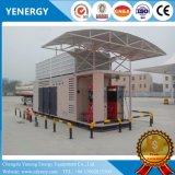 非常に統合されたスキッドによって取付けられる容器CNGの移動式給油所の可動装置の給油所