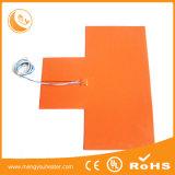 De elektrische Industriële het Verwarmen van Rubbe van het Silicone Verwarmer van het Silicone van het Stootkussen 12V Flexibele