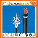 Il PVC ignifugo isolato di plastica del fluoro di rame del conduttore ha inguainato il cavo elettrico (flessibile) termoresistente corazzato del nastro d'acciaio