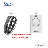 su controllo compatibile di telecomando di vendita 433MHz Faac per l'apri del portello di Faac
