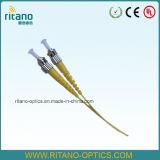Tresse optique de bande du simplex 2.0mm de fibre à plusieurs modes de fonctionnement de FC pour la solution Assemblings rapide de FTTH