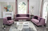 Sofà moderno del sofà del tasto di Chesterfield del salone