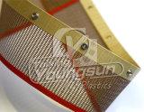 El secado de microondas de la correa de malla de PTFE