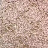 웨딩 드레스 복장 3D 최신 디자인 레이스 직물을%s 꽃 레이스 직물