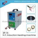 Высокочастотная машина топления 6kw индукции Sp-15 30-100kHz
