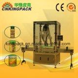 Macchina di rifornimento automatica di latte in polvere delle latte/barattoli/vasi/bottiglie