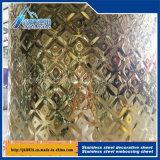 piatto decorativo della scheda a forma di diamante del cubo di formato dell'acciaio inossidabile 8K