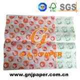 240*340mm Impression papier pour Sandwich Hot Dog Wrapping
