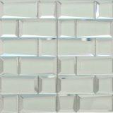 Het mooie Transparante Volledige Mozaïek van het Glas van het Lichaam Binnenlandse voor de Tegel van de Keuken