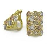 Juwelen 925 van de Manier van de Juwelen van China In het groot Echte Zilveren Ring (R11025)