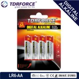 Mercury&Cadmium freie China Fabrik-Digital-alkalische Batterie (Volt 9V/9)