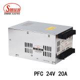 Stromversorgung der hohen Leistungsfähigkeits-15VDC 32A 500W mit Pfc Funktion
