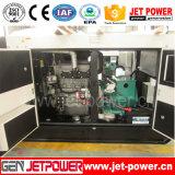 24kw防音のディーゼル発電機の4打撃エンジンの無声発電機