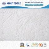 Tissus entiers de matelas de Wihte avec le polyester 100%
