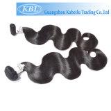Человеческие волосы ранга 7A типа способа бразильские