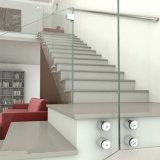 Pin d'impasse de support de mur pour la balustrade en verre de Frameless