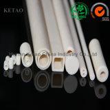 99.7% 99.9% tubos de cerámica del alúmina de 1m m 2500m m con la buena absorción de agua 0.1-0.2%