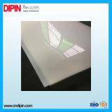 Hoja de acrílico clara del plástico del plexiglás
