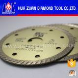 Диск диаманта Turbo синтера для мрамора гранита