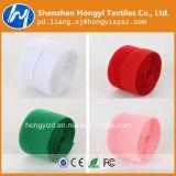 Nylon grossista colorida com gancho e fita de Velcro para roupa