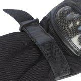 Schwarzer Handschuh für Polizei mit Ziege-Haut und Breathable Gewebe