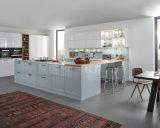 Lustro elevado de Ritz pronto para montar gabinetes de cozinha da pintura de pulverizador da laca