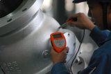 Valvola a sfera superiore saldata estremità forgiata dell'entrata dell'acciaio inossidabile