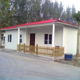 Tecto plano Pequena Casa prefabricados em Angola
