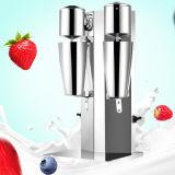 Máquina principal doble del batido de leche de la fruta de la coctelera del helado