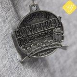 Vollständiger kundenspezifischer Metallweltlaufring-laufende Marathon-Sport-Verbindungsstück-Karate-Medaille
